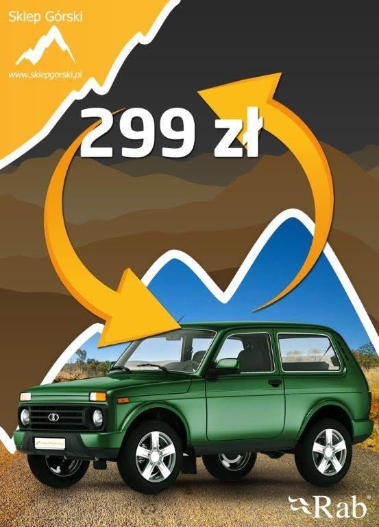 Win the legendary all-terrain vehicle – Lada Niva!