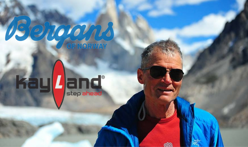 Kayland and Bergans with Ryszard Pawłowski in the Himalayas